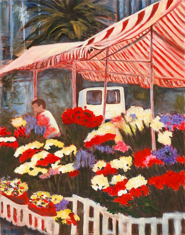 Javier's Flower Stall