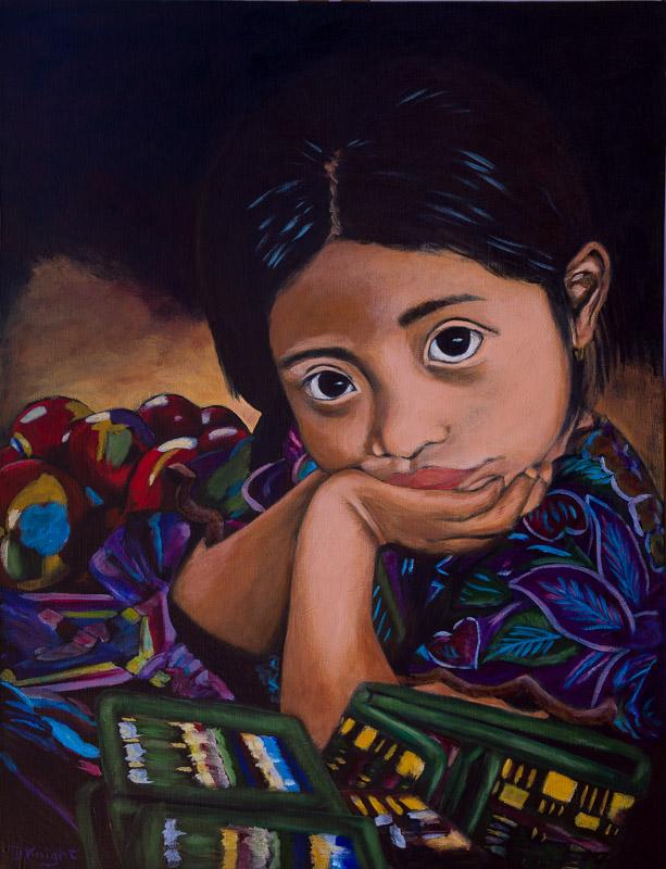 Mexico's Future – Young Mayan Girl
