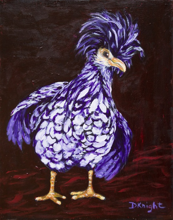 Purple Punk Pollo