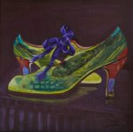 "Shoe Art 5 - ""Green Shoes"""