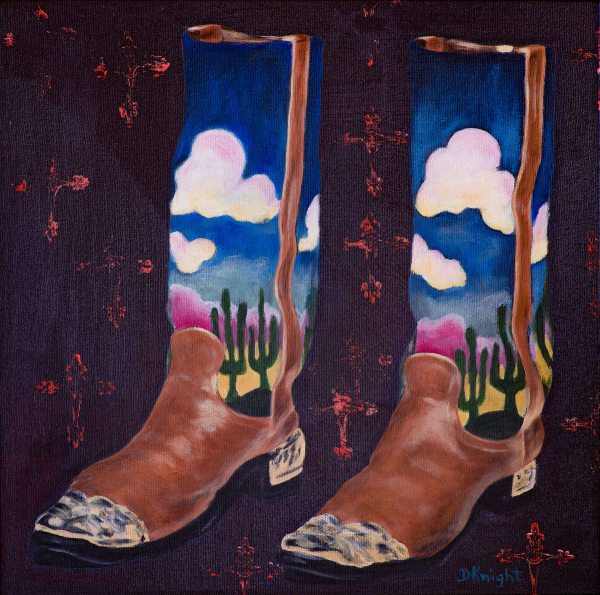 Shoe Art 6 ( Cowboy Boots)
