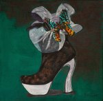 Shoe Art 9 - Butterfly & netting