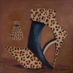 Shoe Art 10 – Leopard print