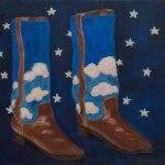 Shoe Art 12 – Cowboy boots
