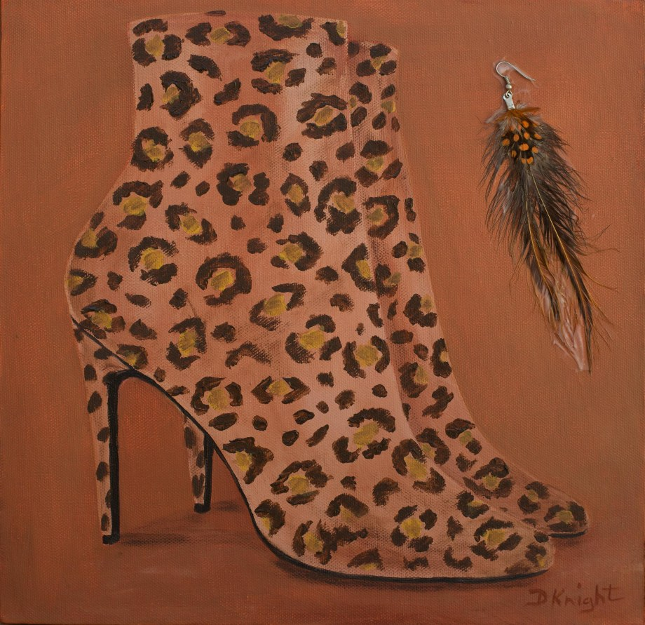 Shoe Art 13 – Leopard print boots